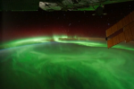 Aurora Seen from Orbit