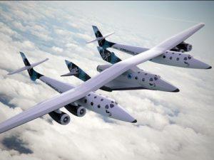 Virgin Galactic's SpaceShipTwo (Credits: Virgin Galactic).