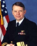 Vice Admiral Joseph W. Dyer USN (RET) - (Surce: NASA).