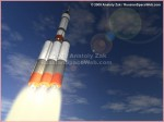 Artist's conception of the RUS launch vehicle (Credit: Anatoly Zak - RussianSpaceWeb).