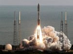 Launch of Atlas 5 rocket carrying MSL Curiosity Mars Rover (Credits: NASA).