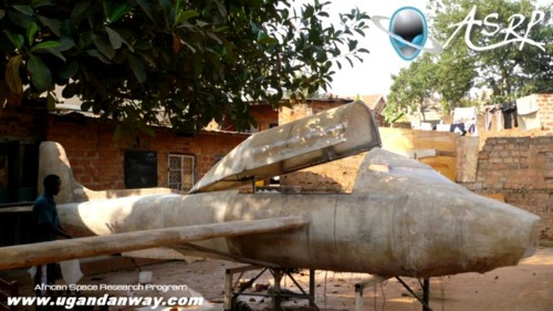 The first African Space Shuttle is being built in the backyard (Credits: ugandaway.com).
