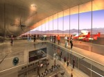 An artist's impression of the interior of Spaceport America (Credits: Spaceport America).