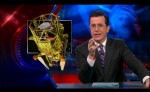 An image from Colbert's segment on Phobos-Grunt. (Credits: Comedy Central).