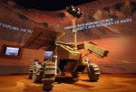 A mockup of the proposed ESA ExoMars rover (Credits: ESA).