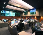 The CMD Command Center (CCC) inside Cheyenne Mountain, one of the center that provides data to U.S. STRATCOM (Source: Norad.mil).