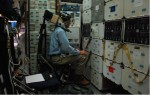 The problem was solved using a vibration chair developed for the Gemini program (Credits: NASA).