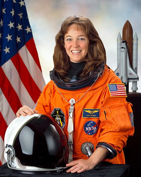 The dark sheep among female astronauts. Lisa Nowak was charged with attempted murder of a love rival just months after her spaceflight in 2006. Her case raised many questions about the selection criteria for US astronauts (Credits: NASA).