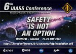 "IAASS Conference 2013 ""Safety is Not an Option"": Call for Papers"
