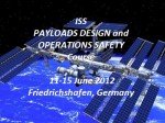 IAASS Announcement: Last Days to Enroll in the ISS Payload Design and Operations Safety Course