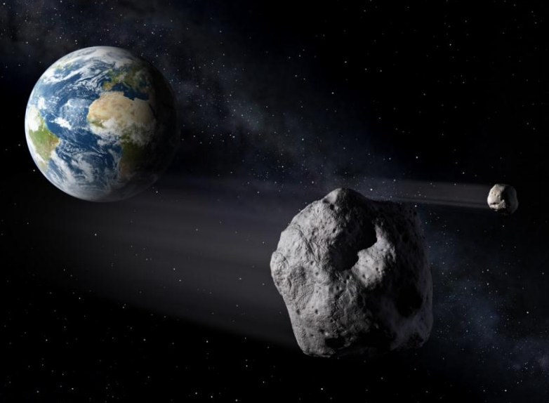 Some near Earth objects may pose a threat of collision with the planet (Credits: Secure World Foundation).