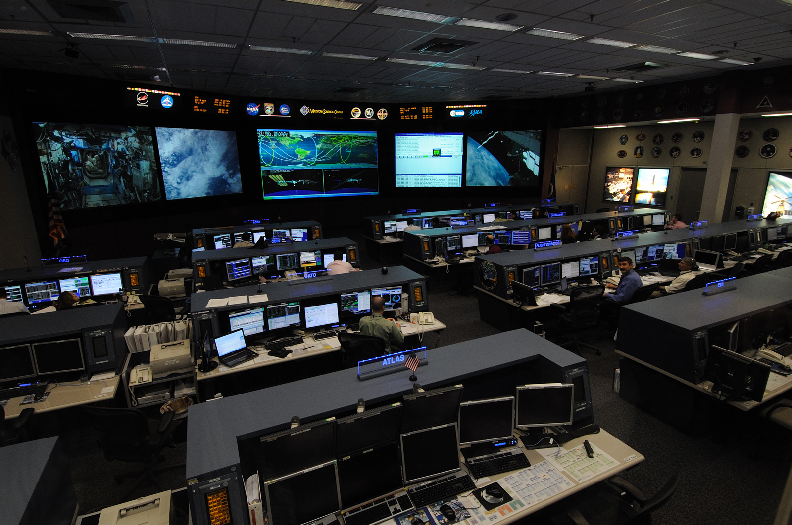 houston mission control center -#main