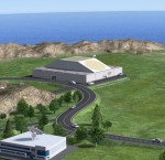Rendition of ESA's SSA radar facility (Credits: ESA/P. Carrill).
