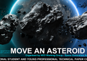 Paintballs Win Move an Asteroid Competition
