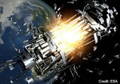 DebriSat will shed light on what happens to satellites that collide in orbit (Credits: ESA).