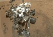 A stunning self-portrait of the Curiosity rover (Credits: NASA).