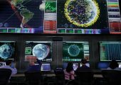 Space Fence Mission Control concept. (Courtesy: Lockheed Martin)