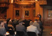 The International Institute of Space Commerce held a workshop in London entitled Space tourism: Risks and Solution (Credits: Tereza Pultarova).