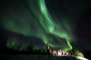 """This is for me so far 6 nights out of 6 with beautiful auroras in the sky,"" says Finnish photographer Rayann Elzein (Credits: Rayann Elzein/spaceweather.com)."