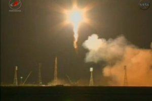 Progress' lift-off from Baikonur Cosmodrome on February 11 (Credits: Roscosmos).