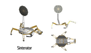 Sinterator, Source: NASA