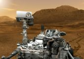 Curiosity rover has been sent to Mars to investigate planet&#039;s past or present ability to sustain microbial life (Credits: NASA).