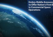 Announcement from Embry-Riddle: first degree program specializing in commercial space (Credits: Embry-Riddle Aeronautical University).