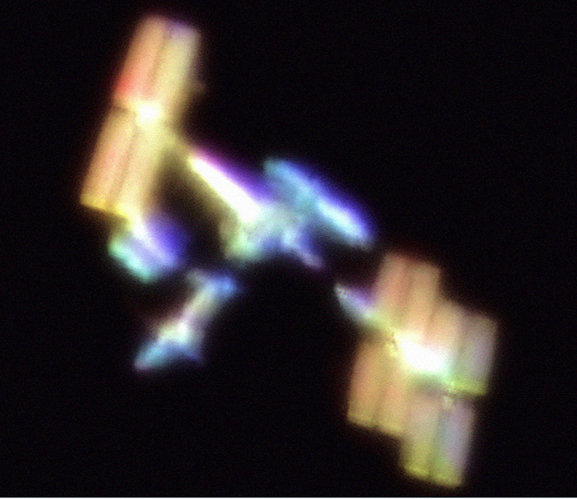 International Space Station, Color View