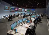 The European Space Agency Satellite Control Center in Darmstadt, Germany (Credits: ESA).