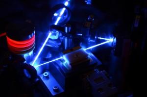 A beam splitter can be used to separate entangled quanta (Credits: Quantum Optics and Quantum Communication).