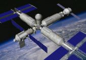 A proposed configuration for OPSEK in 2011 (Credits: Roscosmos).