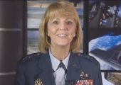 Air Force Chief of Safety Major General Margareth Woodward speaks at the 6th IAASS Conference (Credits: US Air Force).