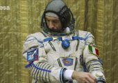 Luca Parmitano Shows Off his Spacesuits