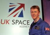 Major Timothy Peake, ESA's first UK Astronaut (Credits: UKSA.)