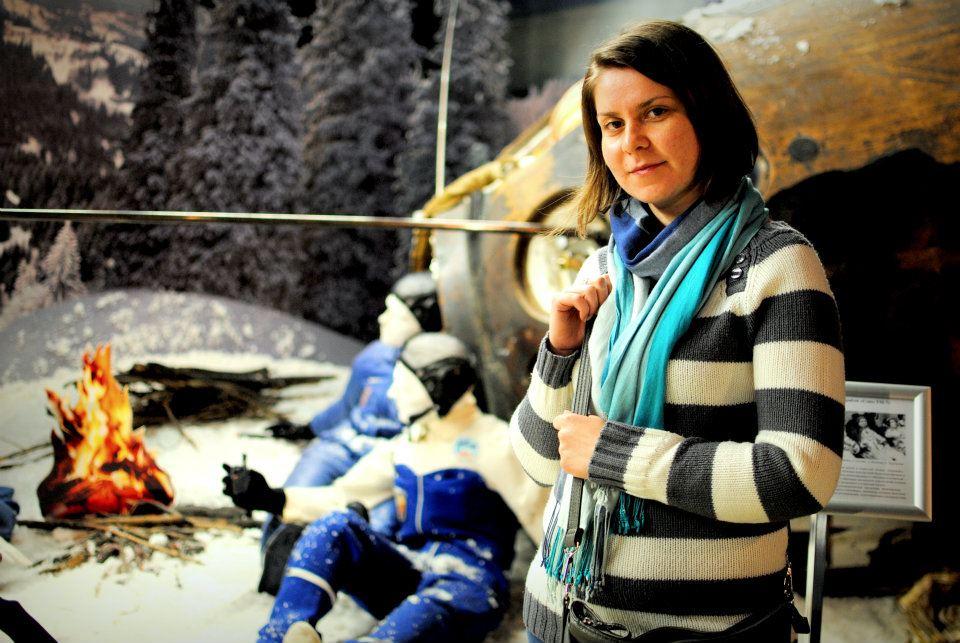 Aerospace engineer Adina Cotuna is one of the first Romanian Young Graduate Trainees in ESA (Credits: Shripathy Hadigal).