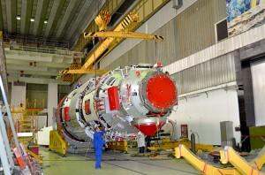 "The Multi-purpose Laboratory Module ""Nauka""  was built by Khrunichev and RKK Energia (Credits: Khrunichev)."