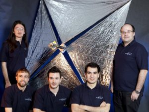 The University of Surrey team (Credits: University of Surrey).