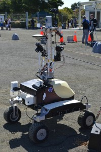 The K-10 rover at Ames Research Center (Credits: Guillaume Houdu).