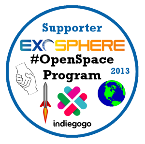 Patch of Exosphere's crowdfunded campaign on Indiegogo (Credits: Exosphere)