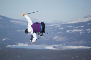Northstar ski jump by Reno Tahoe