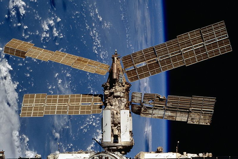 mir space station tracker - photo #23
