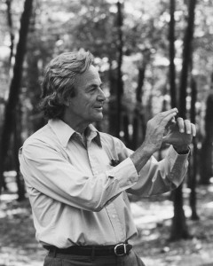 Richard Feynman's ordeal in trying to get the root of the Challenger disaster is the key aspect of The Science Channel's recent program detailing the Roger's Commission on the accident (Credits: Tamiko Thiel).