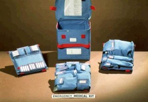 The Emergency Medical Kit used onboard the Space Shuttle (Credits: NASA).