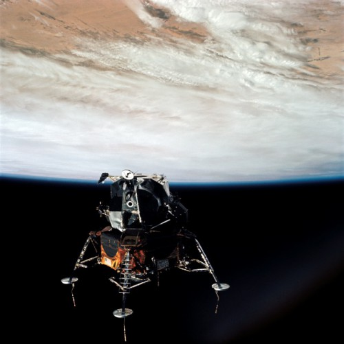 lunar module in space - photo #27