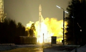The Soyuz 2-1v inaugural launch. (Credits : Roscosmos).