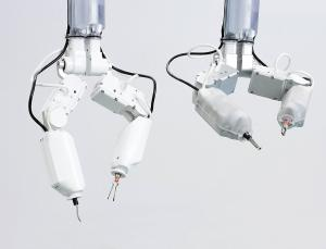 Prototypes of the robot-surgeon. These devices may be used to operate astronauts during long-duration mission far from Earth (Credits: Virtual Incision Corp.)