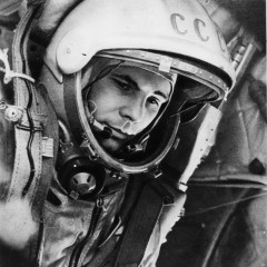 At dawn on 12 April 1961, Yuri Gagarin was an unknown in the history books. By nightfall, his remarkable achievement had turned him into the most famous man in the world (Credits: Roscosmos).