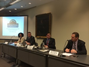 Panel convened by Secure World Foundation discussed the role of satellites in aviation (Credits: SWF).