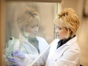 Dr Nickerson of the Biodesign Institute at Arizona State University (Credits: Nick Meek).