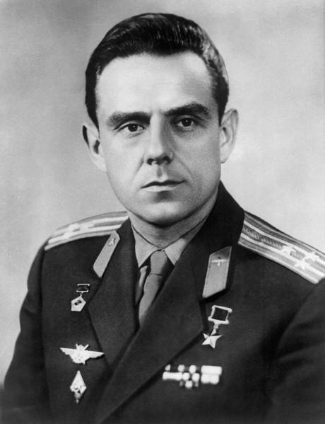 Cosmonaut Vladimir Komarov 's portrait